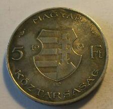 Hungary 5 forint 1946 Kossuth Lajos silver coin variations