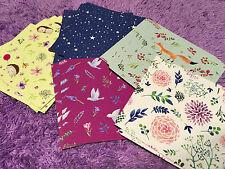 150pcs Origami Color Paper Crafts Sheets Floral Flower Fox Bird Stars Hedgehog