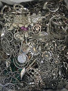 Mixed Jewelry Crafters Lot Mismatched Broken Crafts Repair ~ Over 17lbs ~ (Box6)