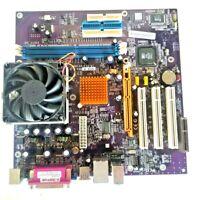ECS 741GX-M MOTHERBOARD + 2GHz AMD Athlon XP AXDA2400DKV3C CPU + H/S & FAN
