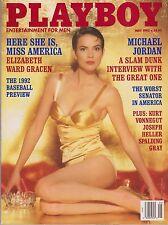 PLAYBOY MAY 1992-B – VICKIE SMITH – MICHAEL JORDAN – MISS AMERICA NUDE !!