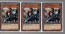 Yugioh Cards -  3 Card Playset - 3x Silver Rare Dust Knight REDU-EN034