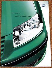 2001-02 VW SHARAN Sales Brochure - Carat Sport S SE 4MOTION  Excellent Condition