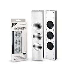 Dobe Turbo USB Port High Speed Cooling Fan 3 Fans for Xbox One S White Console