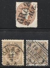 Group of 3 Different Graz Cancels