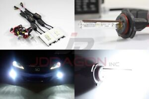 9006/Hb4 6000K Crystal White 35W Slim AC Canbus Ballast Xenon HID Kit Fog Light