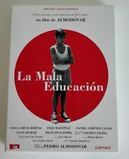 LA MALA EDUCACION - DVD - CINE GAY -  EDIC COLECCIONISTA - CD EXTRAS - LIBRETO