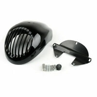 Faring Headlight Grille Cover Front Visor For Dyna Sportster 883 Black A0