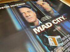 Mad City (1997) starring John Travolta Original UK Quad Film Poster