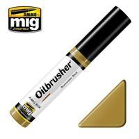 Ammo of Mig Oilbrusher Summer Soil - Oil Paint with Fine Brush Applicator #3534