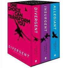 Divergent Series Box Set Books 1-3  Allegiant Insurgent By Veronica Roth NEW
