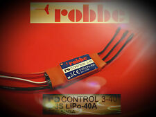 RO-CONTROL 3-40 , 2-3S 40A(55A) BRUSHLESS REGLER Nr.: 8713 v. robbe