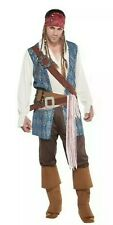 Jack Sparrow Deluxe Pirate Costume Adult One Size Fits All