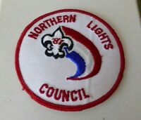 Scouts badge, Northern Lights Council 81, 3 inches diameter.