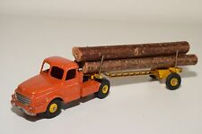 F DINKY TOYS 36A 36 A WILLEME FARDIER TRACTEUR TRUCK TRAILER EXCELLENT CONDITION