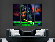 RONNIE SULLIVAN POSTER SNOOKER THE ROCKET LEGEND SPORT ART IMAGE PICTURE PRINT