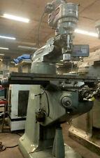 Refurished Bridgeport J Head Milling Machine Cleaned And Restoredlate Machine