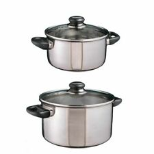 "Inox Chair-Marmite "" Sylt "" Marmite Casserole Cocotte Induction Appropriée Set"
