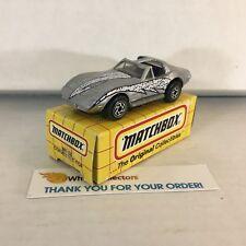 Corvette T-Top MB 58 * Silver * Matchbox w/ Box * WE10