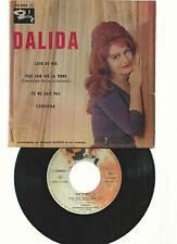 DALIDA-EP- VINYLES MADE IN FRANCE- POCHETTE RARE!!!-LOIN DE MOI+TU NE SAIS PAS+2
