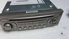 08-13 CITROEN C5 MK3 RADIO MP3 CD PLAYER BLAUPUNKT  RD4  9663080277