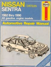 Nissan/Datsun Sentra 1982-1990 All Gasoline engine