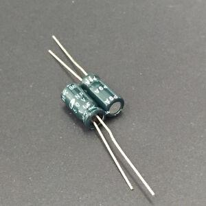 500pcs 1uF 50V SAMWHA NP 5x11mm 50V1uF Non polar Electrolytic Capacitor