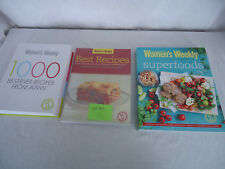 Womens Weekly Lot #5 Cookbooks x 3 Superfoods/1000 Best-Ever/Best Recipes #4434