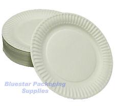 200 x 18 cm bianchi di qualità CARTA PARTY PIATTI Snack