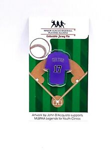 Colorado Rockies Todd Helton jersey lapel pin-Classic throwback Collectable