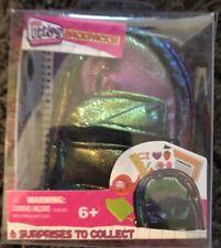 NEW Shopkins Real Littles Mini Backpack! Metallic - 6 Surprises Inside!