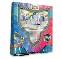 IN STOCK Pokemon TCG Zacian V League Battle Deck Box Factory Sealed Display
