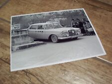 Photo  /  Photograph  Schock MERCEDES BENZ 220SE Monte Carlo 1960  //
