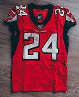 NFL Atlanta Falcons Devonta Freeman NIKE Game Worn Jersey Photo Matched PSA COA