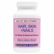 Biotin-Hair, Skin & Nails 5000Mcg Halal Vitamins by Healthy Bio-Vitamins