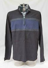 Para Hombre Negro y Azul tracción táctil líquido de Calvin Klein en la parte superior Jersey Talla XL Lote KR19