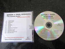 "QUEEN & PAUL RODGERS ""THE COSMOS ROCKS"" RARE NUMBERED PROMO CD"