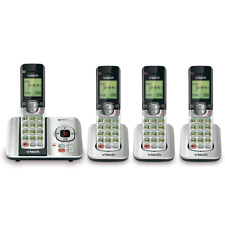VTech CS6529-4 DECT 6.0 Phone Answering System with Caller ID/Call Waiting, 4
