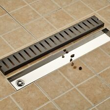 Flower Carved Black Floor Drain Square Bathroom Shower Grate Waste Drainer