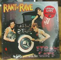 "👀 STRAY CATS ""RANT N' RAVE"" SEALED ORIG 1983 LP HYPE STKR SO-17102 LOOK 👀"