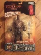 "NEW 2002 , JAKKS PACIFIC, THE SORPION KING, MATHAYUS"" ACTION FIGURE ""THE ROCK"""