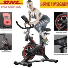 Black Exercise Bike Fitness Home Cardio Spinning Training Indoor Gym Machine