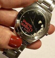 Vampire Hunter D St Steel Wrist Watch Silver Tone Runs New Battery