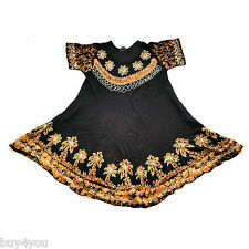 Strandkleid Sommerkleid Kleid Tunika Goa Boho Hippie Beach Indisch Vintage