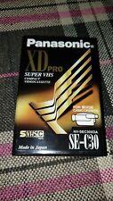 Panasonic XD Pro SE-C30 Super VHS Compact Videocassette
