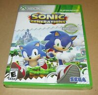 Sonic Generations (Xbox 360) Brand New / Fast Shipping