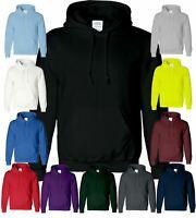 Plain Mens Kids Hooded Sweatshirt Jumper Sweater Warm Boys Hoodie SNS APPAREL