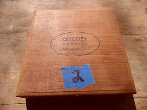 Kingsley Machine Type LETTERS Hot Foil Stamping Machine #2