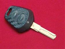 Black Carbon Fiber Key Decor for Porsche Boxster 911 Interior Sticker Coating