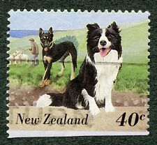 Dogs: Border Collie. 1995 New Zealand, Scott #1292. Free Ww S/H